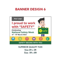Safety Slogan Banner