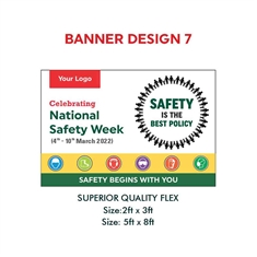Safety Quote Banner