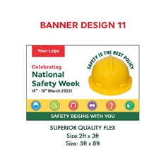 National Safety Week Construction Banner