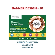 National Safety Week Creative Banners