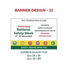 National Safety Week Awareness Banners