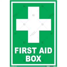 First-Aid-Sign in Portrait