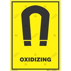 Oxidizing-Warning-Sign in Potrait