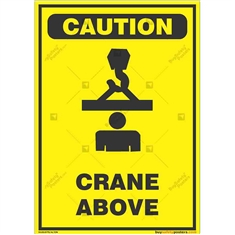Overhead-Crane-Warning-Sign in Potrait