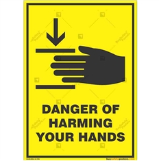 Hands-Safety-Awareness-Sign in Potrait