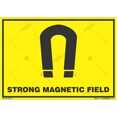 Strong-Magnetic-Field-Warning-Sign in Landscape