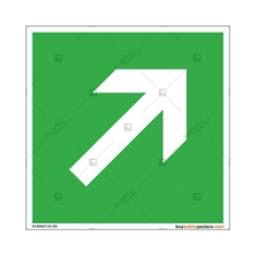 Safe-Passage-Route-Display-Sign in Square