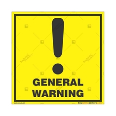 General-Warning-Sign in Square
