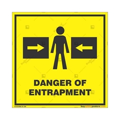 Danger-Entrapment-Zone-Warning-Sign in Square