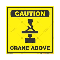 Overhead-Crane-Warning-Sign in Square